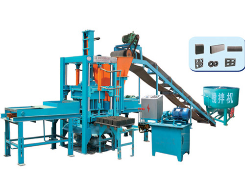 QT3-35 Hydraulic Block Molding Machine