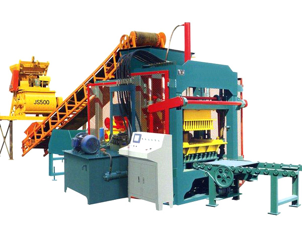 QTJ4-15 Brick Making Machine
