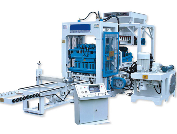QT6-15 Brick Making Machine