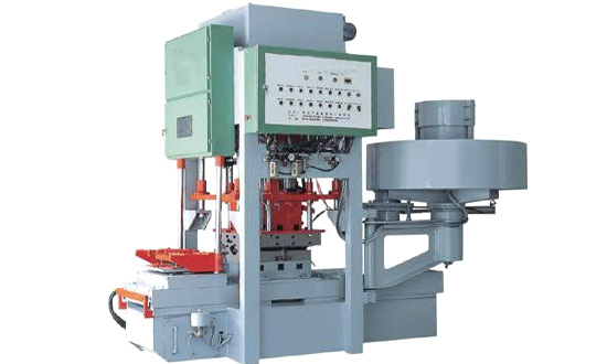 128S High-speed NC Moulded Color Tile Machine