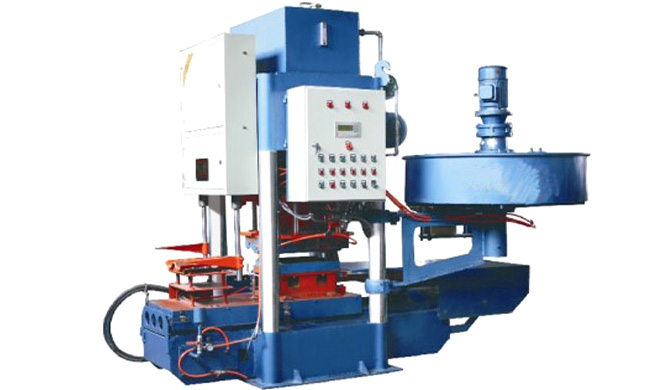ZK-10 Guide Moulded Color Tile Machine